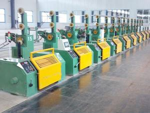 Arc Welding Wire Coiling Line